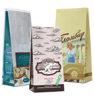 Пакеты под замороженные продукты