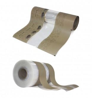 Материалы с прозрачной полосой, в комбинации с бумагой