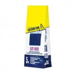 Бумажный 2-х слойный пакет с бумагой под строительные смеси 5 кг