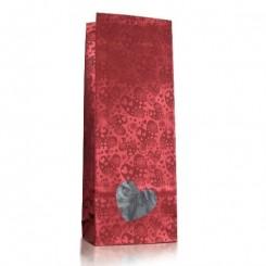 Пакет «сердца» с прозрачным окном «сердце» 40 мм